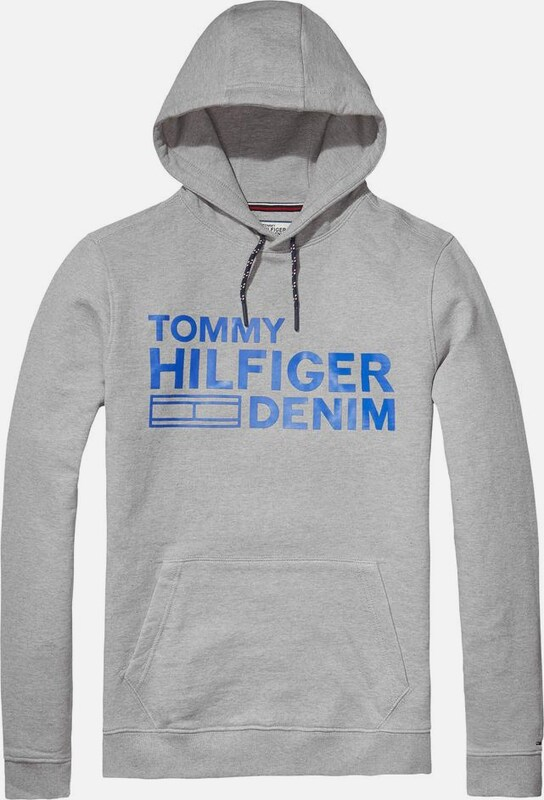 Tommy Jeans Hilfiger Denim Sweatshirt Thdm Basic Branded Hd Hknit L/s 12