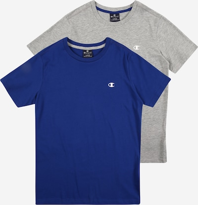 Champion Authentic Athletic Apparel Shirt in royal blue / grey mottled, Item view