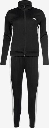 ADIDAS PERFORMANCE Trainingsanzug in schwarz / weiß, Produktansicht