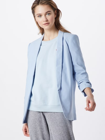 PIECES Blazer in hellblau, Modelansicht