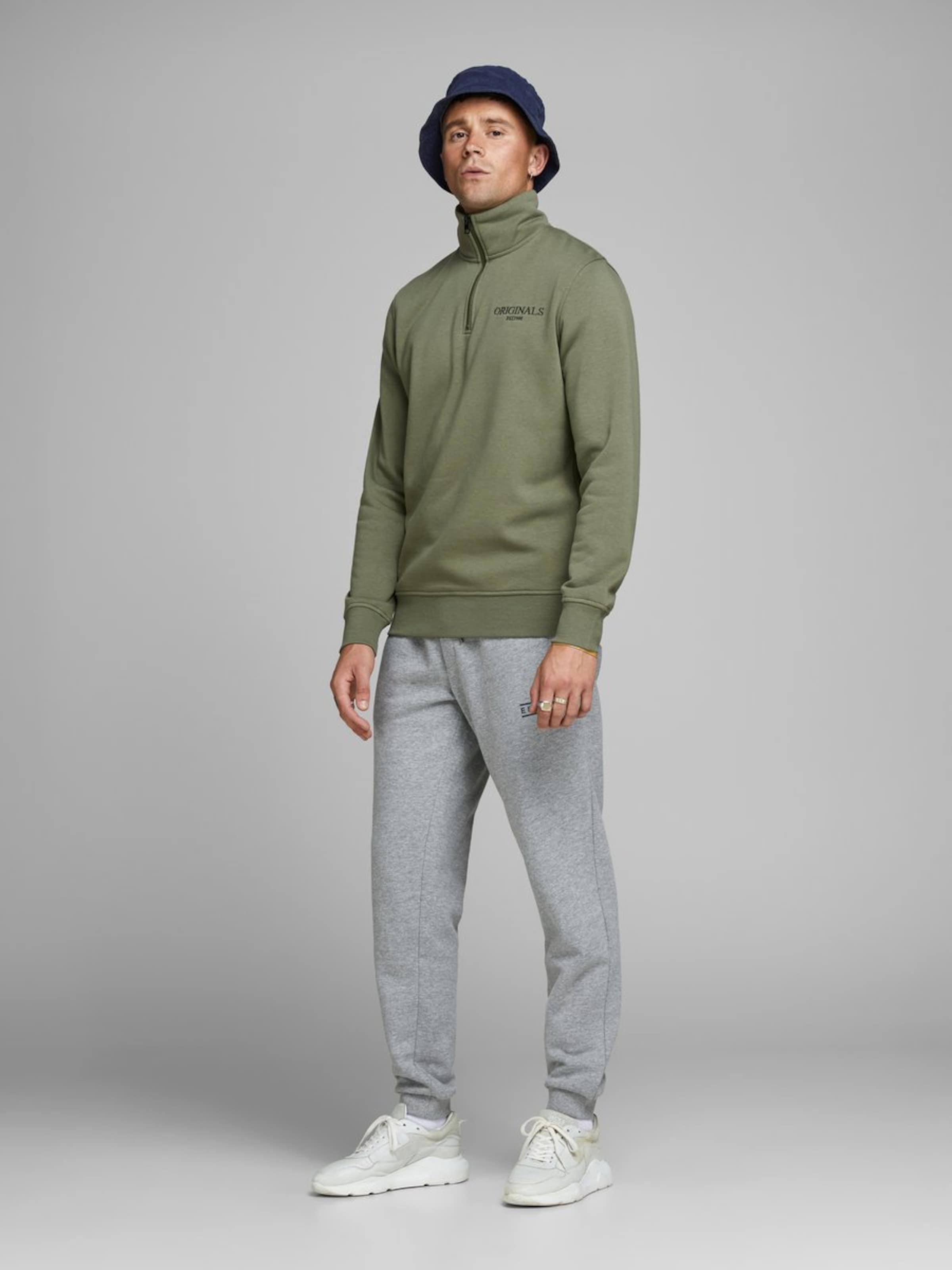 Sweatshirt Khaki In Jones Jackamp; Jackamp; xBrCoed
