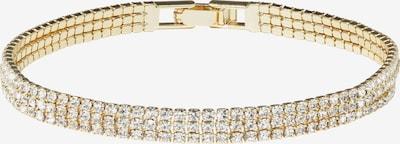 Zaza&lili Armband 'B-Eerie triple' in de kleur Goud, Productweergave