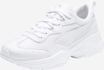 PUMA Rövid szárú edzőcipők 'Cilia' - fehér