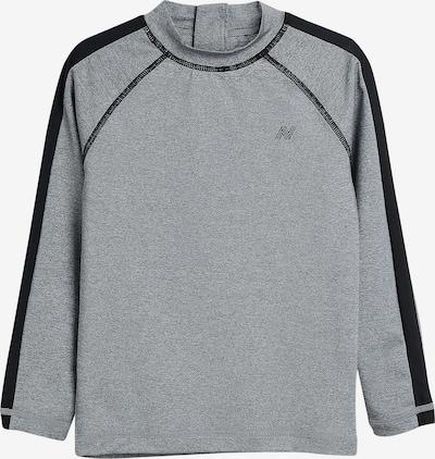 NEXT Shirt in graumeliert / schwarz, Produktansicht