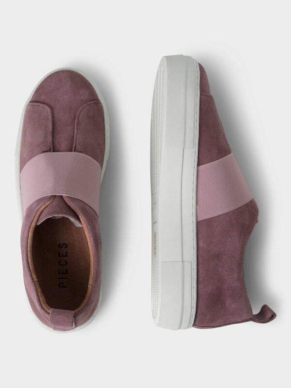 PIECES Wildleder-Sneaker