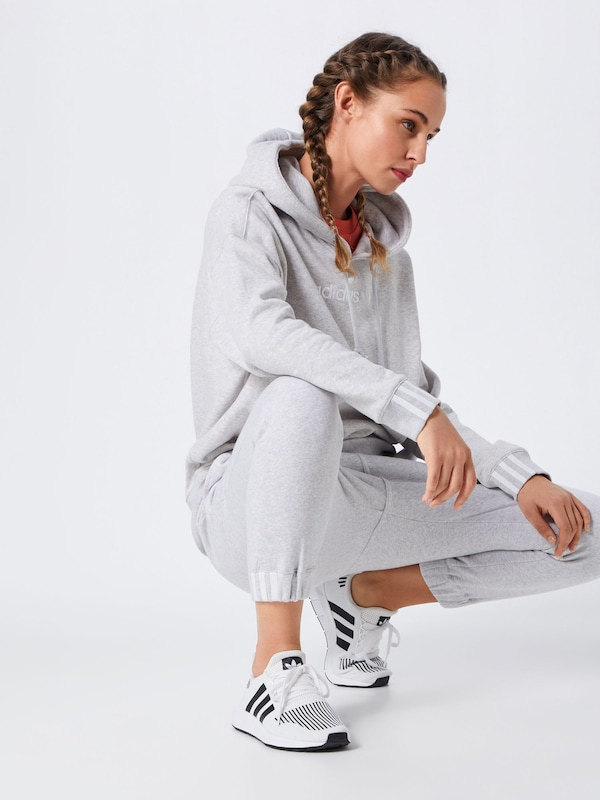 Originals 'coeeze' Gris shirt Sweat Adidas En ClairBlanc AjRL345q