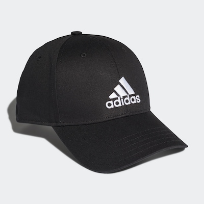 ADIDAS PERFORMANCE Baseball Kappe in schwarz / weiß, Produktansicht