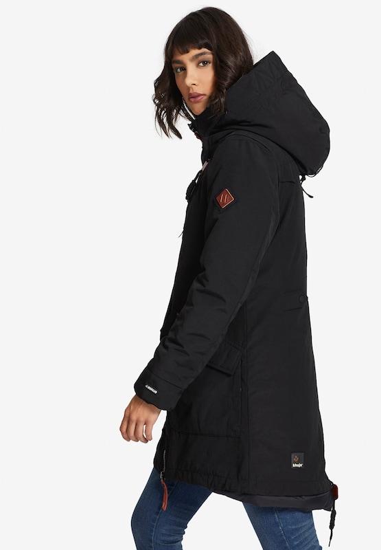 Khujo Mantel Mantel Mantel 'PHILICE' in schwarz  Markenkleidung für Männer und Frauen 354023