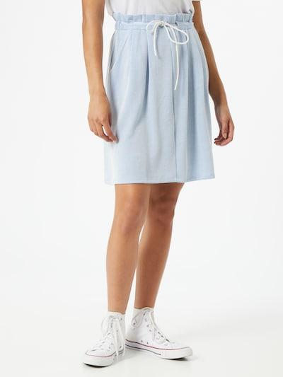 TOM TAILOR DENIM Spódnica w kolorze niebieski / białym: Widok z przodu