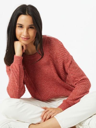 ONLY Pullover 'Felice' in dunkelpink, Modelansicht