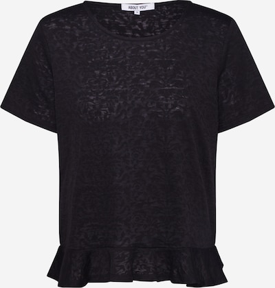 ABOUT YOU Shirt 'Lea' in schwarz: Frontalansicht