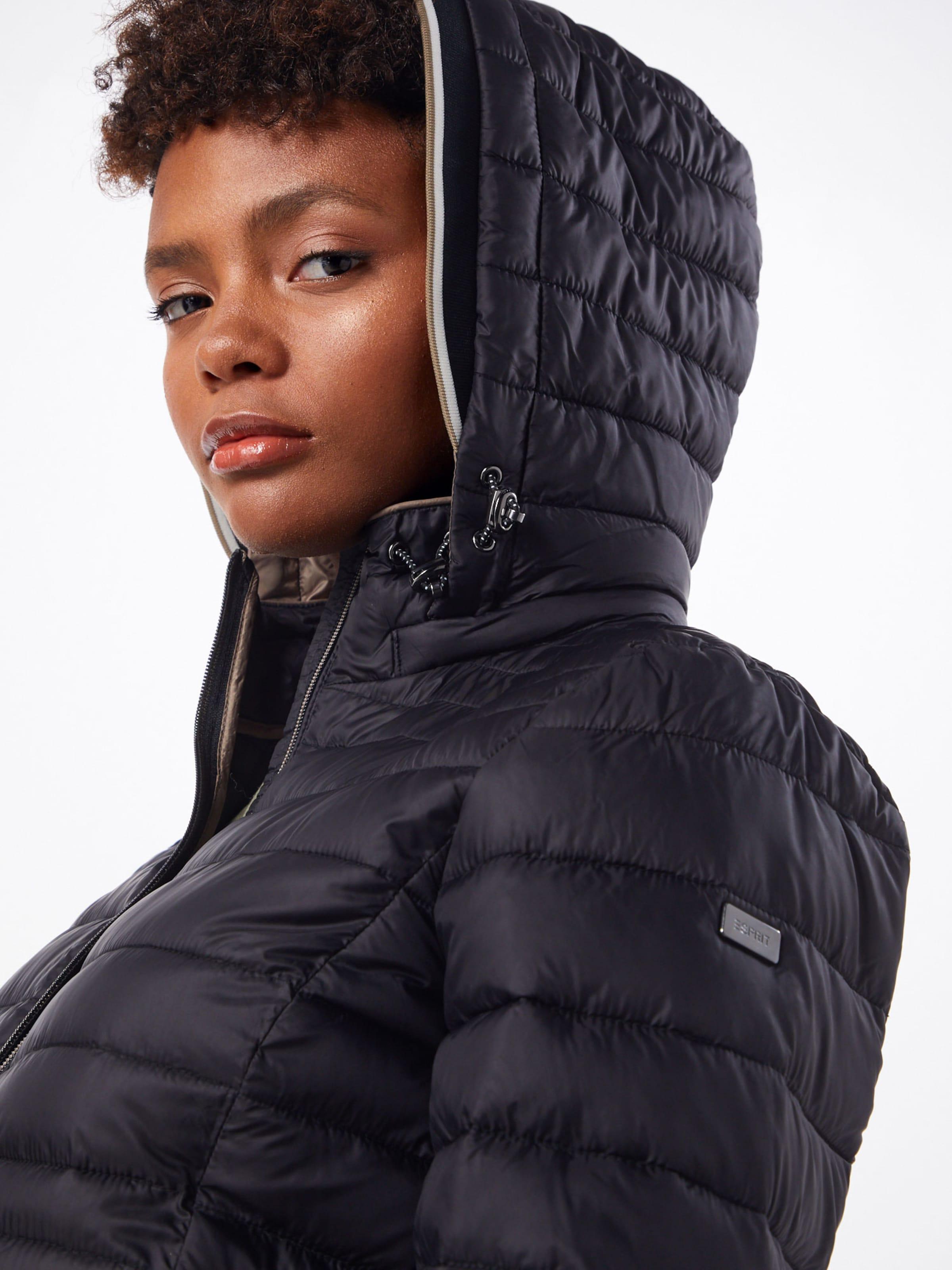 Manteau '3m En Thinsulate' Noir Esprit D'hiver CsQrtxhd