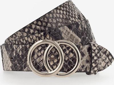 VANZETTI Gürtel in basaltgrau / schwarz, Produktansicht