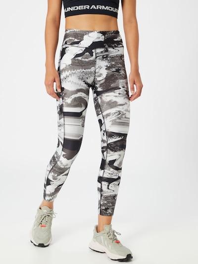 UNDER ARMOUR Hose in navy / grau / weiß, Modelansicht