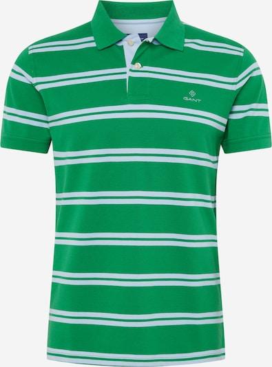GANT Tričko - zelená / bílá: Pohled zepředu