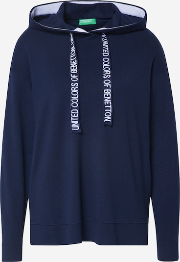 UNITED COLORS OF BENETTON Pullover in navy, Produktansicht