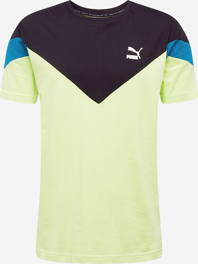 PUMA Functional shirt in Blue / Night blue / Neon green, Item view