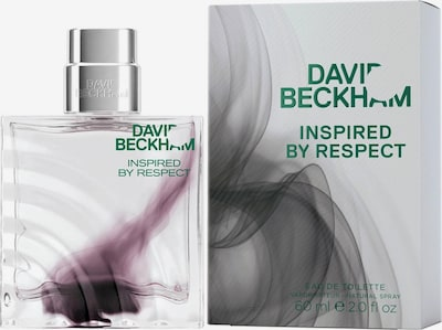David Beckham Eau de Toilette 'Inspired by Respect' in aubergine / transparent, Produktansicht
