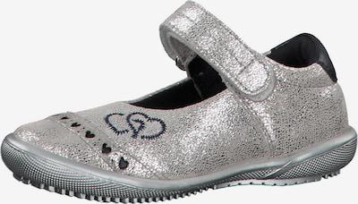 s.Oliver Junior Ballerinas in silber, Produktansicht