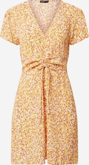 Cotton On Kleid in gelb / pink / rot / weiß, Produktansicht