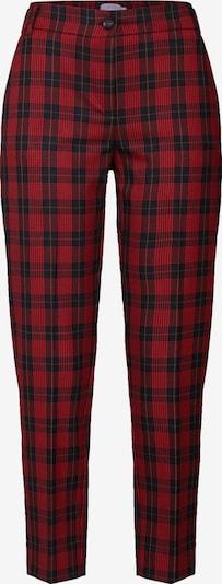 iBlues Spodnie 'DAMASCO' w kolorze czerwony / czarnym, Podgląd produktu