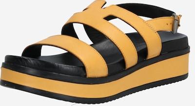 SHABBIES AMSTERDAM Sandalen met riem in de kleur Geel, Productweergave
