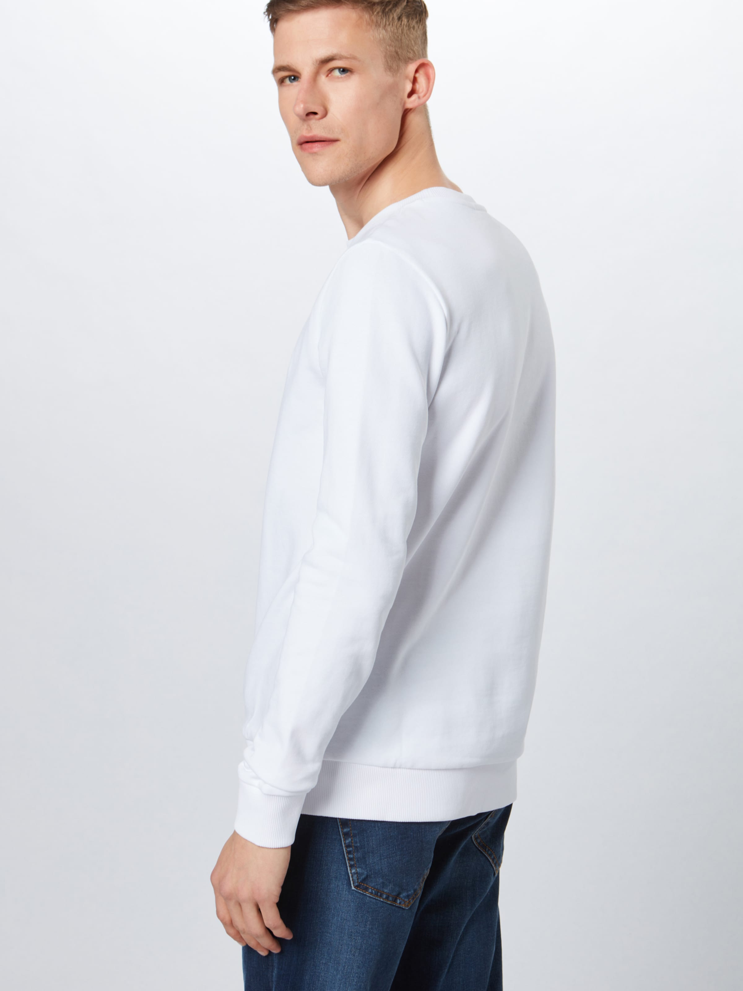'drick u2' Sweatshirt Hugo In Weiß gfYb6y7