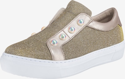 GABOR Sneaker in gold / rosegold: Frontalansicht
