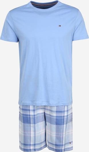 Trumpa pižama iš Tommy Hilfiger Underwear , spalva - šviesiai mėlyna, Prekių apžvalga
