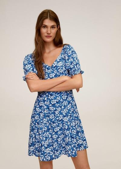 MANGO Kleid 'Sere' in himmelblau / mischfarben, Modelansicht