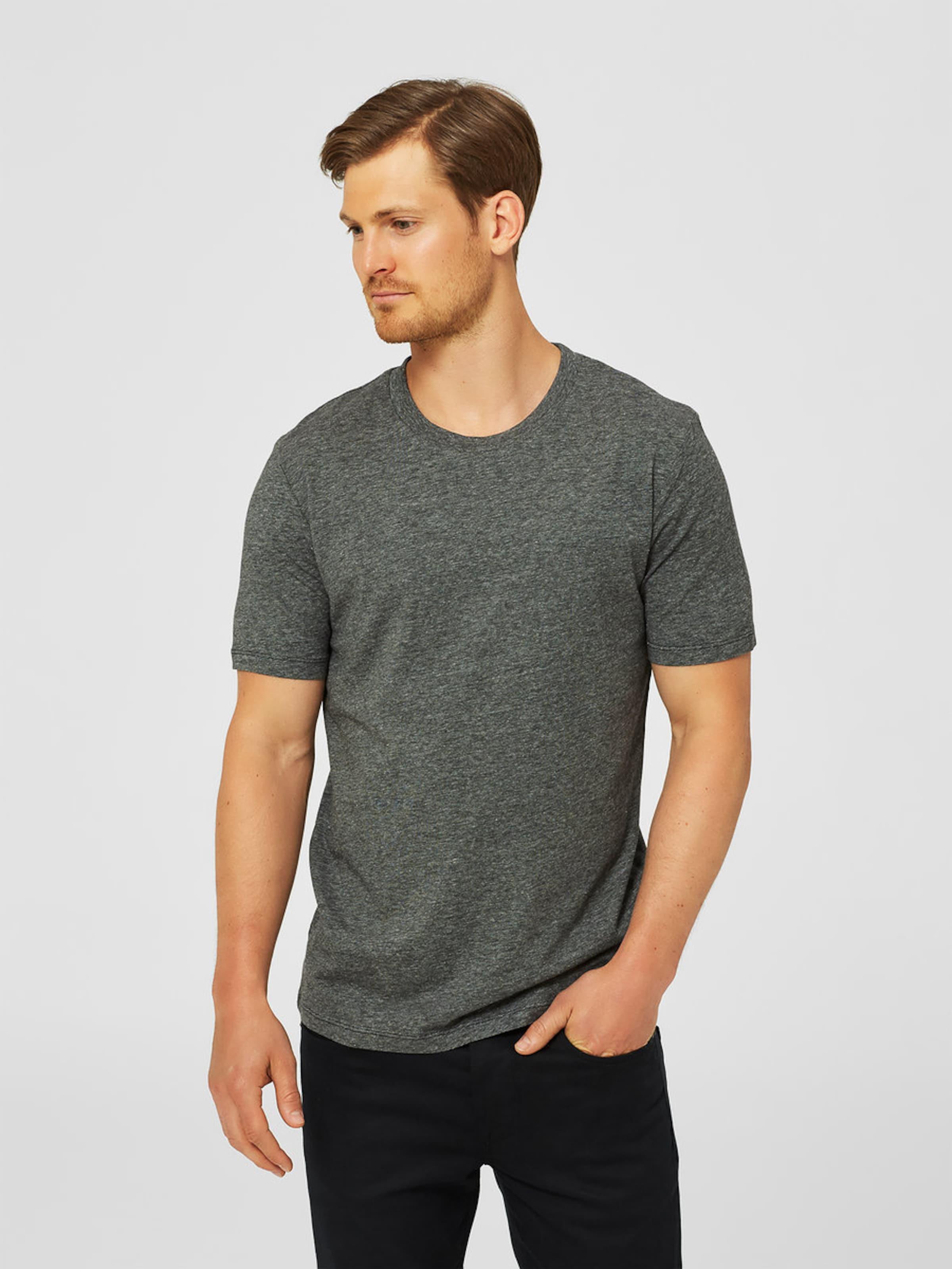 SELECTED HOMME Rundhalsausschnitt-T-Shirt Bester Verkauf Verkauf Online Mit Visum Günstigem Preis Zahlen Auslass Hohe Qualität gqJddaJ