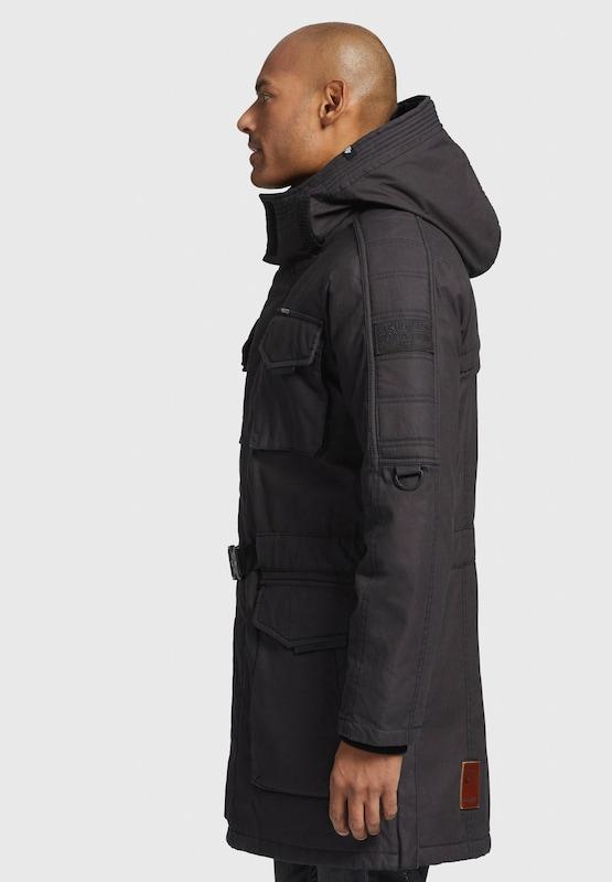 Khujo Mantel 'TAYK' in rostbraun     graphit  Markenkleidung für Männer und Frauen 933ed9