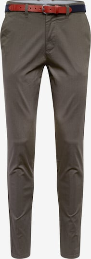 SELECTED HOMME Chino-püksid 'SLHSLIM-YARD AOP PANTS W' tumeroheline, Tootevaade