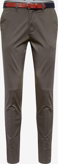 SELECTED HOMME Hose 'SLHSLIM-YARD AOP PANTS W' in dunkelgrün, Produktansicht