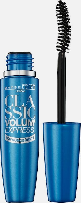 MAYBELLINE New York 'Mascara Volum' Express Schwungbürste', Mascara in schwarz, Produktansicht