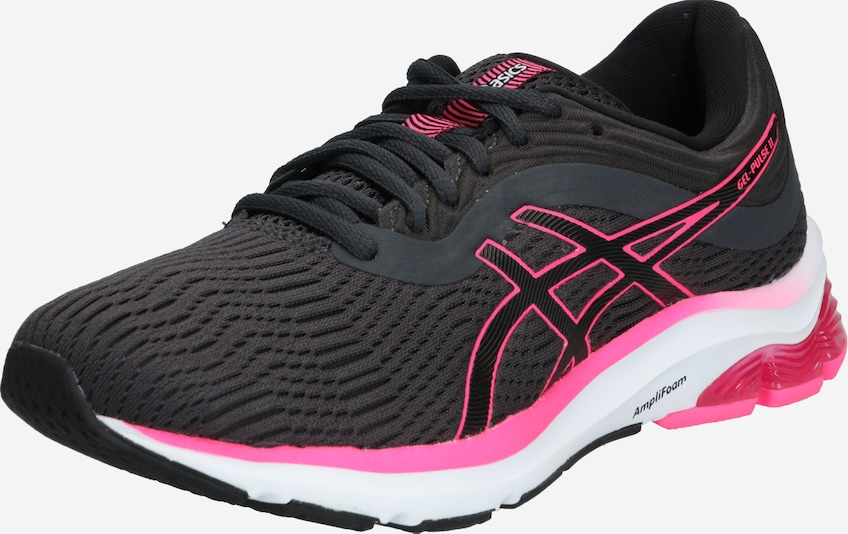 ASICS Loopschoen 'GEL-PULSE 11' in de kleur Grafiet / Pink / Wit, Productweergave