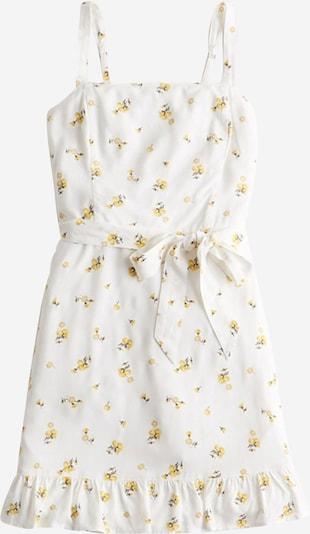 HOLLISTER Letnia sukienka ' Drive Bare' w kolorze żółty / białym, Podgląd produktu