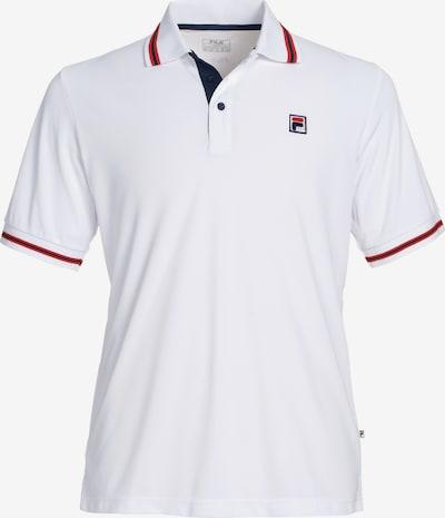FILA Poloshirt 'Piro' in weiß, Produktansicht