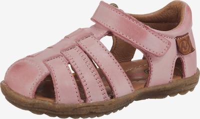 NATURINO Chaussures ouvertes en rose, Vue avec produit