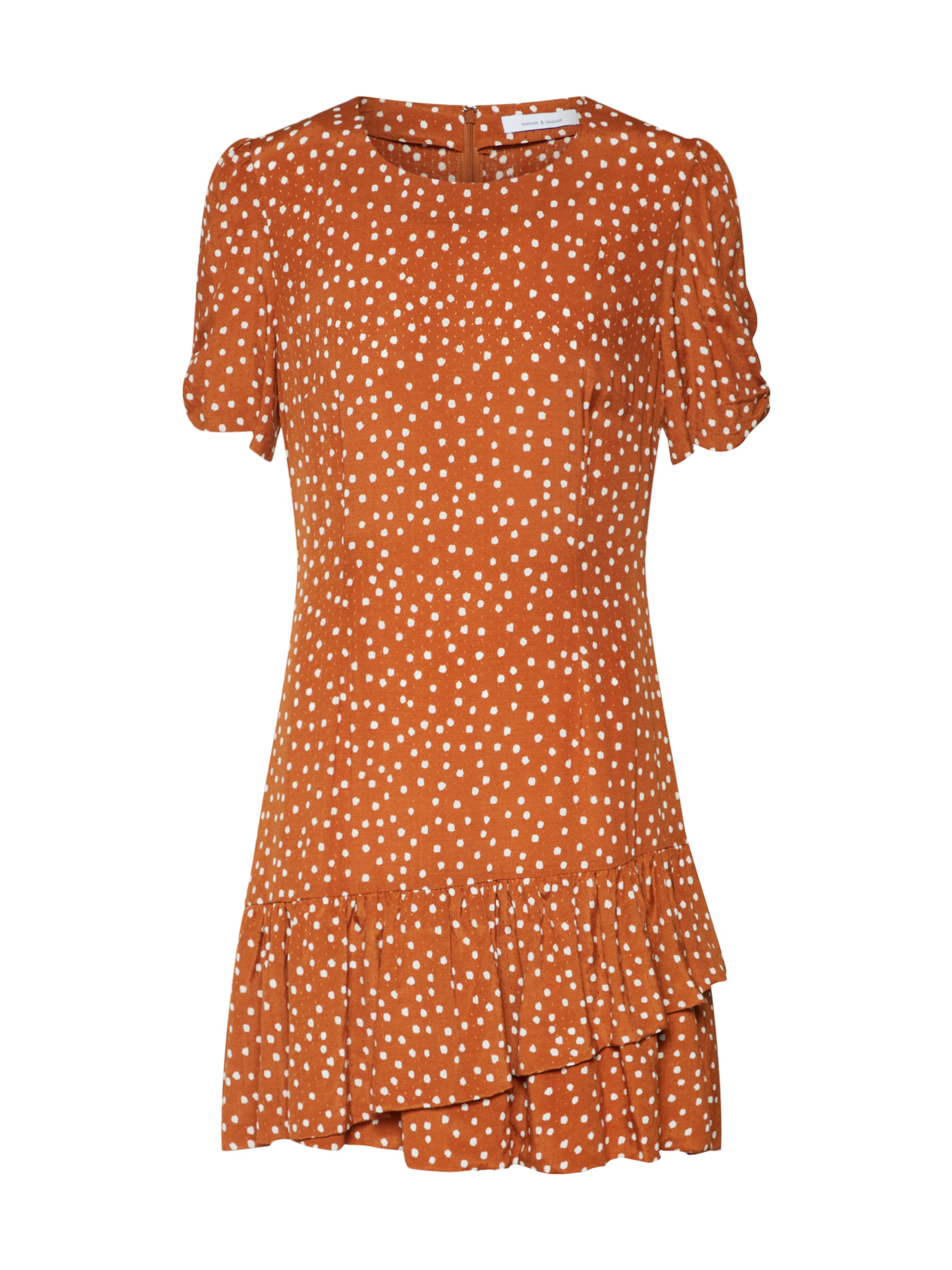 In Kleid Samsoeamp; BraunWeiß Kleid 'monza' BraunWeiß Samsoeamp; 'monza' In Samsoeamp; 'monza' Kleid In WDH29EI