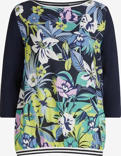 Betty Barclay Blusenshirt mit Blumenprint in grün: Frontalansicht