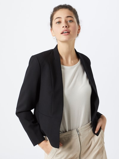 ONLY Blazers 'ONLRICKS-PRETTY LIFEL/S SHORT BLAZER ZA' in de kleur Zwart, Modelweergave