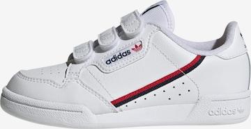 balts ADIDAS ORIGINALS Brīvā laika apavi 'Continental 80 CF C'