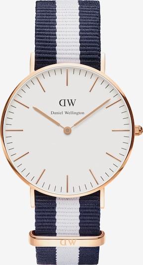 Daniel Wellington Damenuhr 'Classic Collection Glasgow' in marine / rosé / weiß, Produktansicht