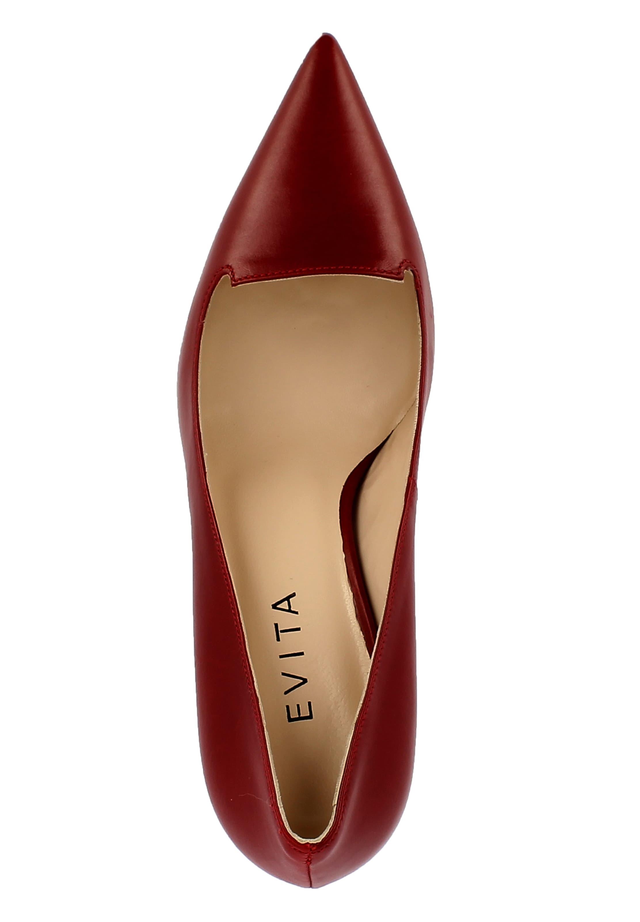 Escarpins Rouge Evita Escarpins Evita Evita Rouge En En Escarpins En shQrdCxtB