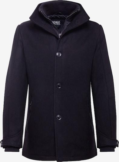 INDICODE JEANS Prehodna jakna 'Clark' | črna barva, Prikaz izdelka