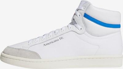 ADIDAS ORIGINALS Baskets hautes 'Americana Hi' en beige / bleu / blanc, Vue avec produit