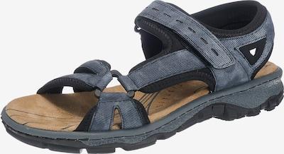 RIEKER Sandale in taubenblau, Produktansicht