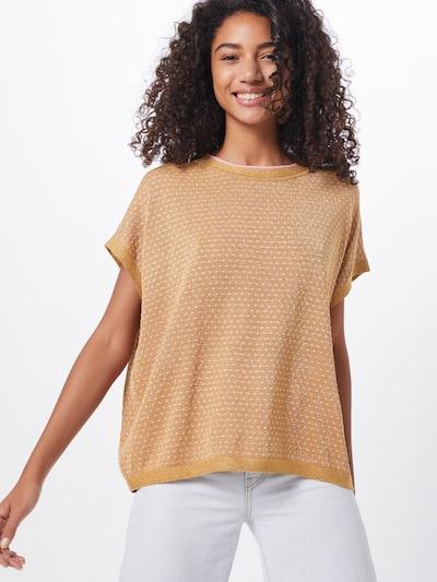 NÜMPH Pullover 'NUDARLENE' in gelb, Modelansicht