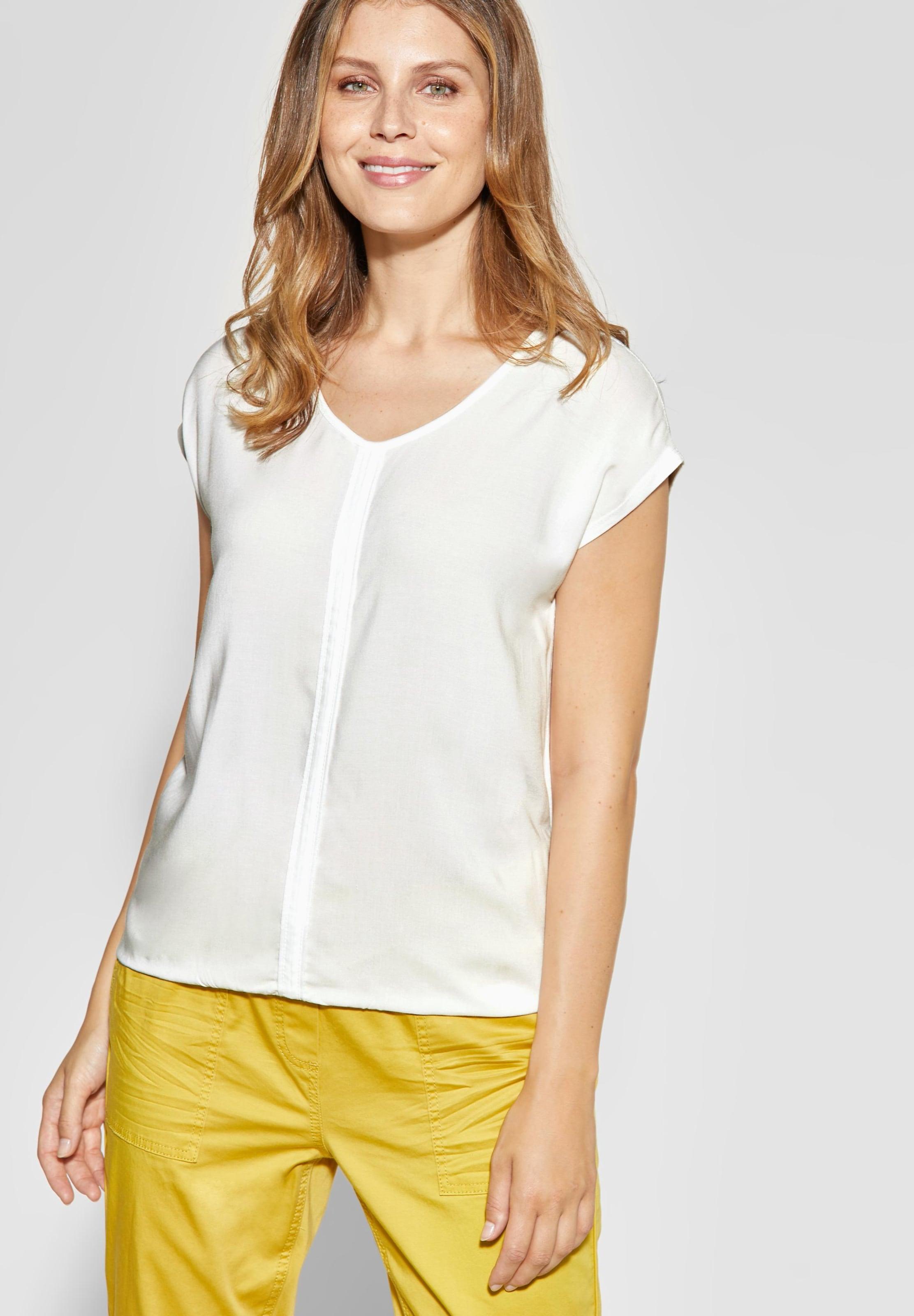 WeißWeißmeliert In Cecil In WeißWeißmeliert Shirt Cecil Cecil Shirt In Shirt eCBdoxWr